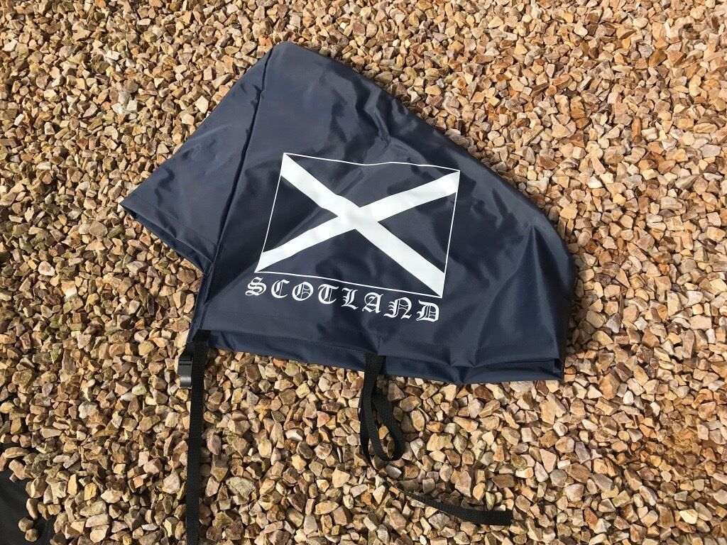 SCOTLAND CARAVAN HITCH COVER - BRAND NEW