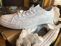Limited Edition Converse Pride Trainers size 5