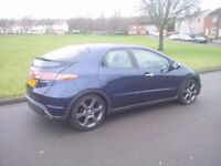 Honda Civic Diesel New MOT Nice and Clean First to see will buy not a Megane Focus Vectra Golf Astra
