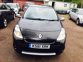 RENAULT CLIO WITH VERY LOW MILES FULL MOT NATIONWIDE DELIVERY ONE OWNER 3195