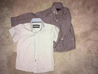 2 Next Boys shirts- age 3