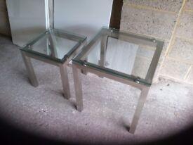 Three'glass tables