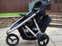 Phil and Ted Vibe double/ single pram