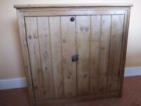 Reclaimed Pine Free Standing Cupboard Unit