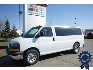 2014 GMC Savana SL 8 Passenger All Wheel Drive Van - 49,433 KMs