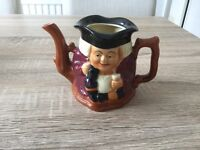 Toby Jug teapot made by Staffordshire potteries