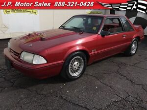1988 Ford Mustang LX, Manual