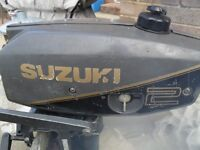 2hp outboard suzuki