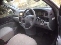 2001 Toyota Regius bifuel unleaded and LPG and part Camper