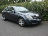 2010 Mercedes-Benz C Class 2.1 C200 CDI BlueEFFICIENCY SE 4dr,Motorway miles,Tax road £115, 2 Owners