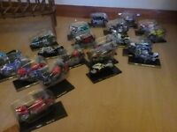 A set of 21 maisto plastic motorcycles