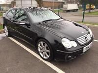Mercedes C230 kompressor coupe evo SE petrol