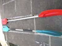 3 X Canoe Paddles
