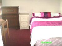 Smart bright double room.quiet area, easy motorway access, close to city, No tax/Agent fees £99PW.