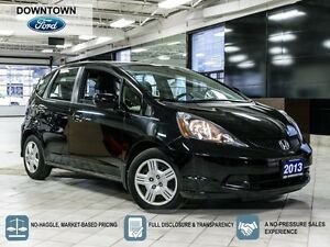 2013 Honda Fit LX, Low Mileage Trade in, Car Proof Verified
