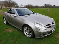 Mercedes SLK350 (rare manual version) convertible