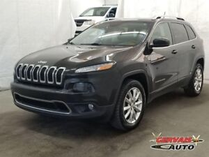 Jeep Cherokee Limited V6 4x4 Cuir MAGS Volan 2015