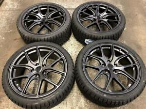 18 LIQUID METAL Wheels 5x114.3 and WINTER Tires 225/40R18 (JAPANESE CARS) Calgary Alberta Preview