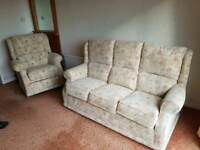 Buoyant Balmoral Three Piece Suite Includes 2 Electric Reclining Chairs