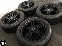 "GENUINE MERCEDES 18"" S CLASS ALLOY WHEELS & MICHELIN TYRES - 245/50/18 - 5 x 112"