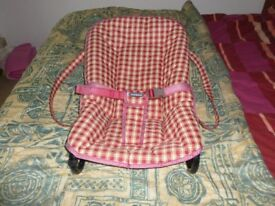 MOTHERCARE BABY READJUSTABLE CHAIR / SLEEP CHAIR / CARRY CHAIR