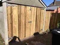 Garage doors wooden door