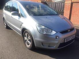 2007 07 FORD S MAX 1.8 TDCI ZETEC WITH FULL 12 MONTHS MOT IN METALLIC SILVER
