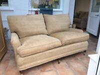 2 seated English roll arm sofa