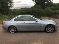 2009 BMW 325i Ci SE CONVERTIBLE AWESOME LOOKER DRIVES SPOT ON FULL MOT HISTORY LEATHER CD PX SWAPS