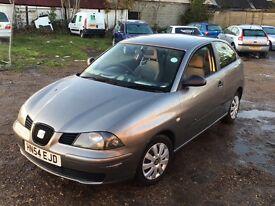 2005/54 Seat Ibiza 1.4 Grey Manual £350