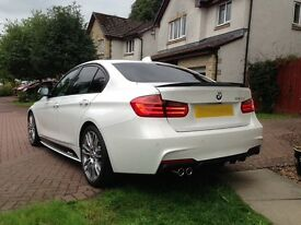 BMW 335d M PERFORMANCE breaking
