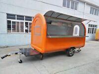 Mobile Catering Trailer Food Cart Burger Van 3400x1650x2400
