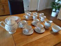 crockery - Johnson Brothers Summer Chintz - tea service (19 pieces)