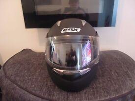 BOX Motorbike Helmet with Pinlock and fog insert Large