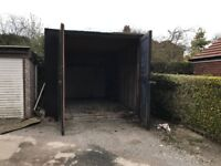 SUPERSIZED garage suitable for motorhome / caravan storage
