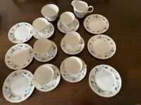 Vintage Colclough Linden China tea set