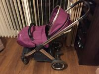 Oyster 2 complete pushchair.carry cot and travel seat