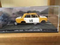 1:43 Lada 1500 - JAMES BOND COLLECTION -The Living Daylights- FABBRI