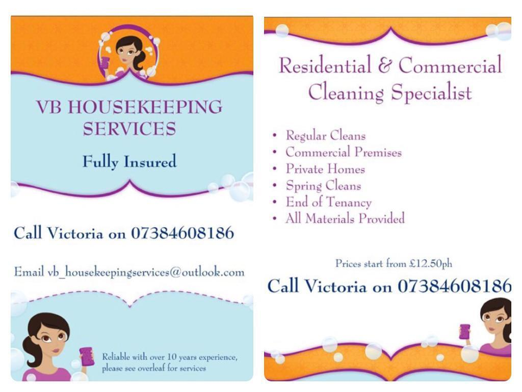 Housekeeping cleaning company for your house or business