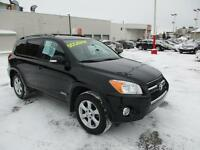 2011 Toyota RAV4 LIMITED V6 4WD TOIT MAGS BLUETOOTH V6 ONE OWNER