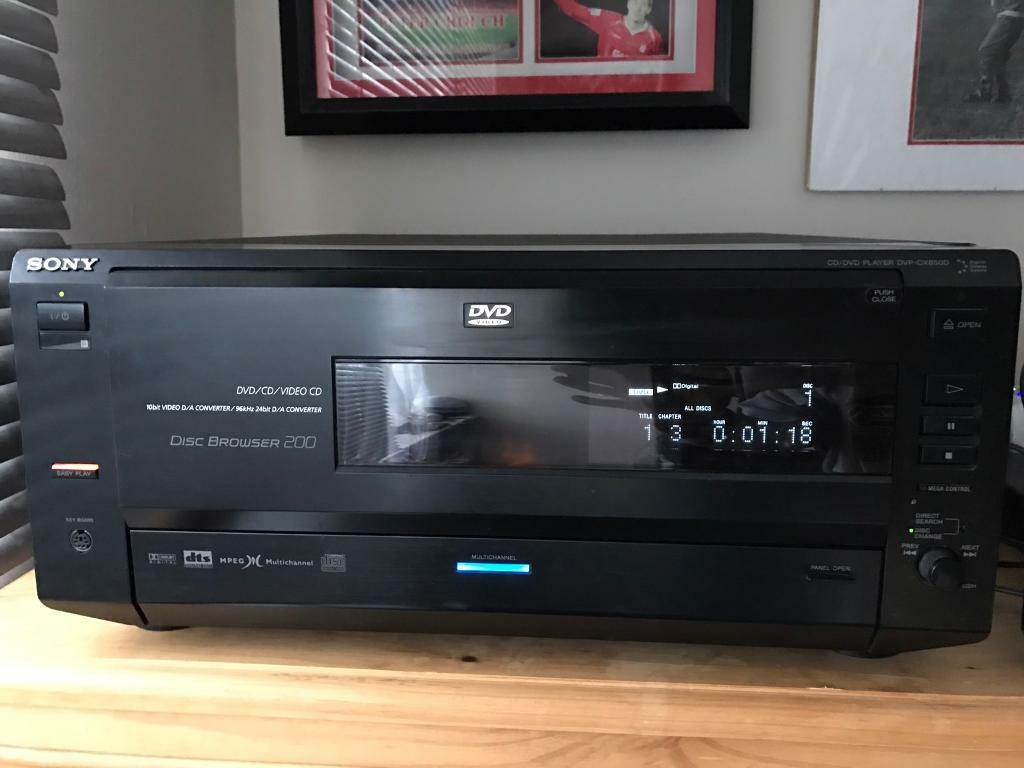 Sony 200 Disc CD DVD Player