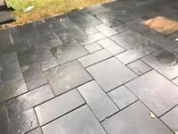 Slabs project pack black limestone