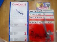 Meccano Sets with Instruction books