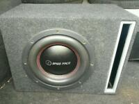 Massive competition bass bassface spl sub subwoofer set up amplifier power cap massive bass