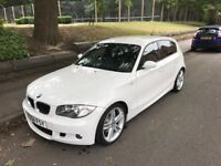 BMW 118D M Sports 2009 in White
