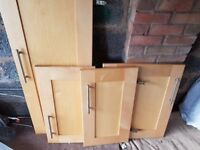 kitchen doors+draws(can deliver)