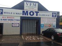 Mot station ,auto repair shop and car wash