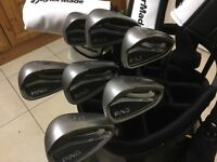 Ping G25 irons 5 to sand wedge