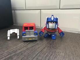 Mr. Potato head Optimus prime toy