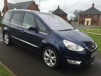 2012 FORD GALAXY 2.0 TDCI TITANIUM X LEATHER AUTO P/EX WELCOME